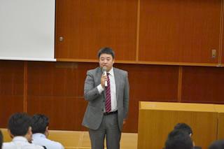 基調講演 株式会社八木澤商店 代表取締役 河野道洋氏