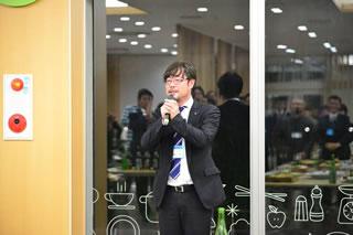 懇親交流会風景・野津実行委員長